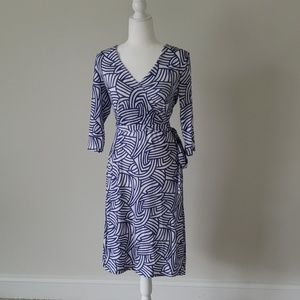 Faux wrap A line dress NEW WITH TAG